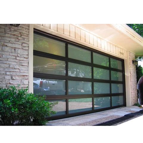 China Wdma 16x7 Aluminium Insulated Tempered Glass Garage Door Price China Windows And Doors Manufacturer In 2020 Garage Door Design Garage Doors Prices Garage Doors