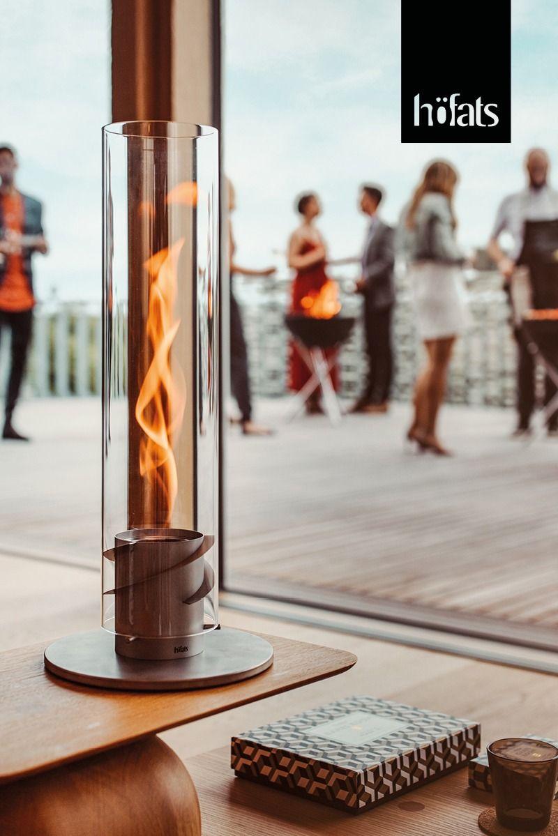 höfats SPIN Bioethanol Windlicht, Tischfeuer