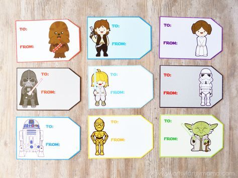 Play doh gift ideas with free printable gift tags star wars gifts free printable star wars gift tags at artsyfartsymama negle Images