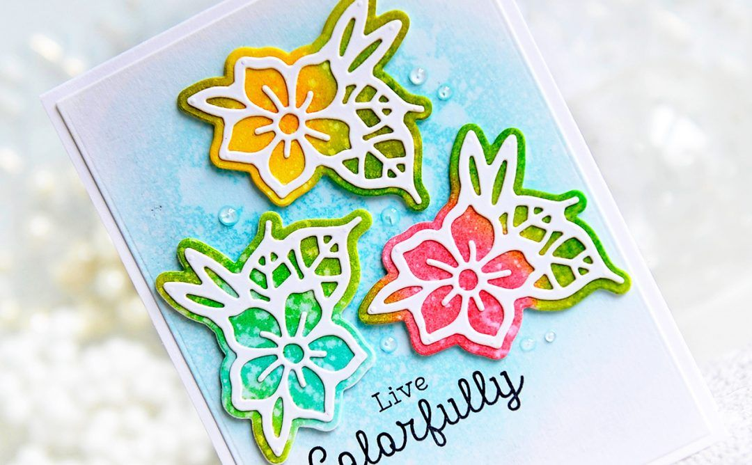 Good Vibes Only Collection By Stephanie Low Inspiration Butterfly Floral Cards With Kay For Spellbinders Using S2 Floral Cards Spellbinders Simple Cards