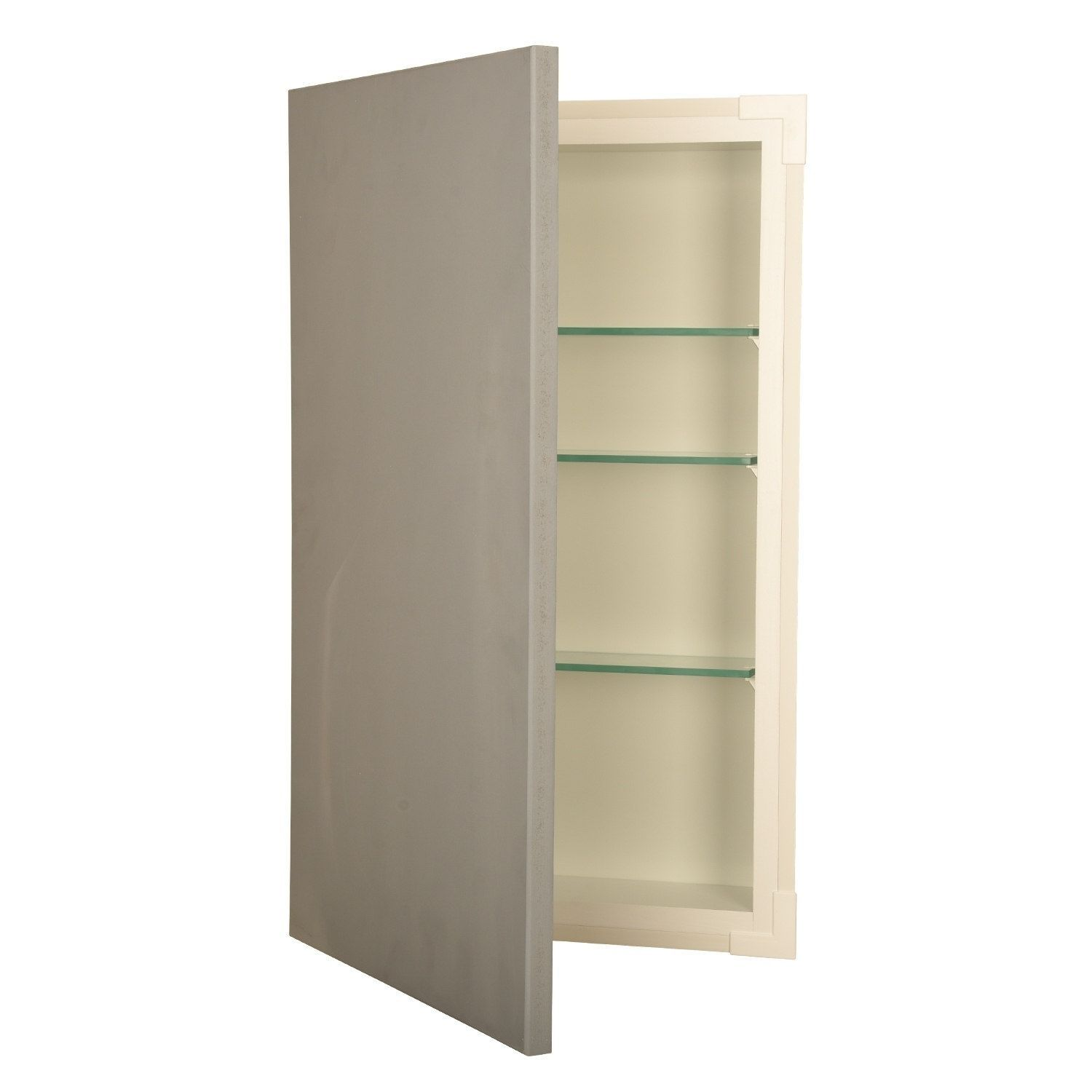 14x27 recessed disappearing frameless wall cabinet 7 25 deep