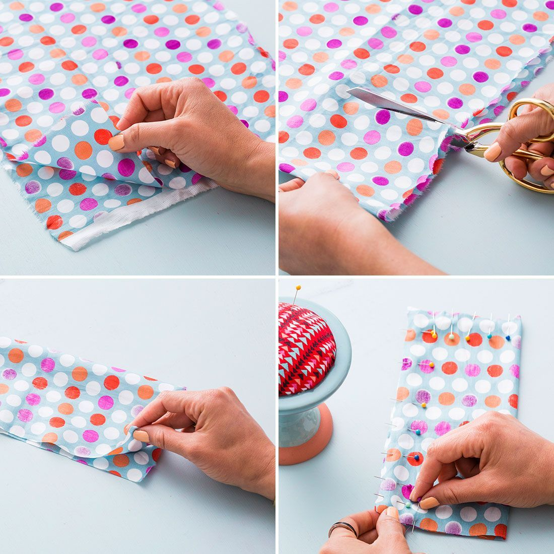 Take it easy with a DIY eye pillow.