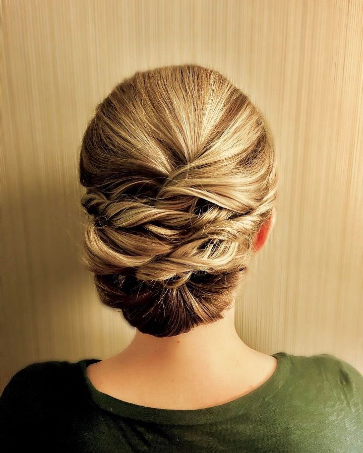 Braid + Updo Wedding Hairstyle | fabmood.com #weddinghair #bridalhair #hairstyle #updo #upstyle #braidupdo #hairstyleideas #hairstyles #bridalhairstyle #weddinghairstyles