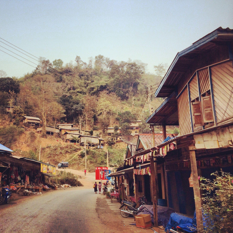Pakbeng, Laos. April 215