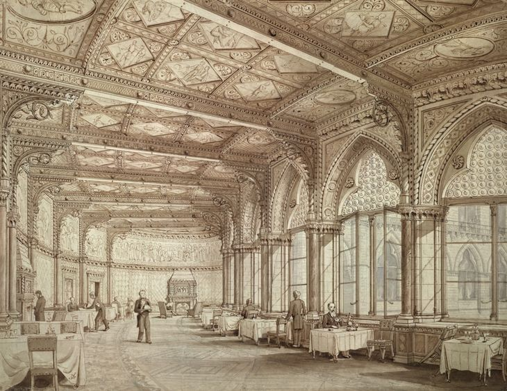Design for st pancras station and grand midland hotel for Design hotel 1860 rendsburg