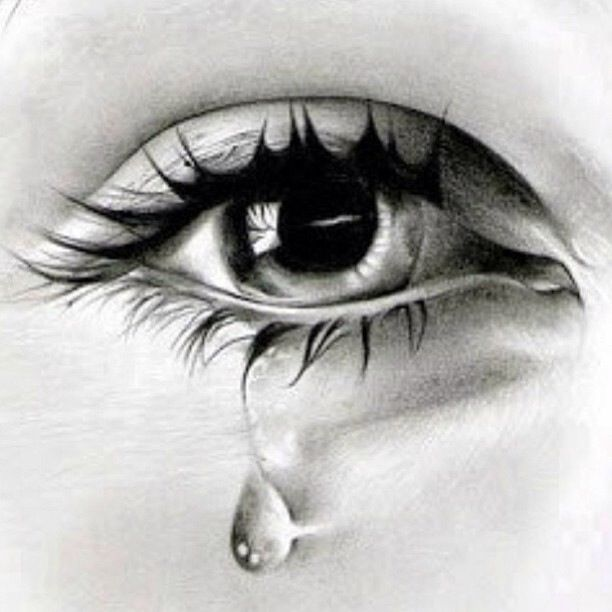 don t cry to night by omar gordillo soto what i would give to be able to draw like this the tear drop is so realistic