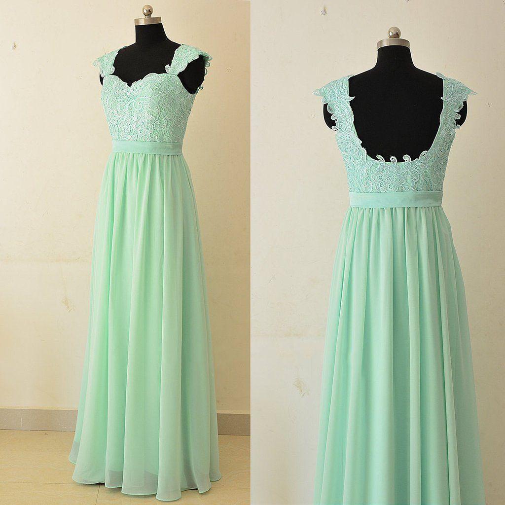 Sweetheart Backless Chiffon Prom Dresses Best Bridesmaid Dresses ...