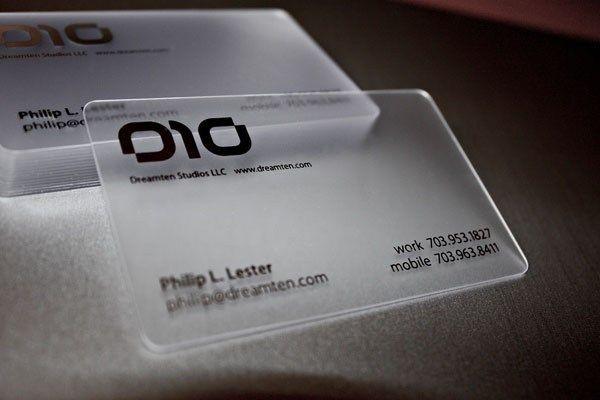 Unique Business Cards Business Card Design Ideas Plastic Business Cards Design Transparent Business Cards Business Cards Creative