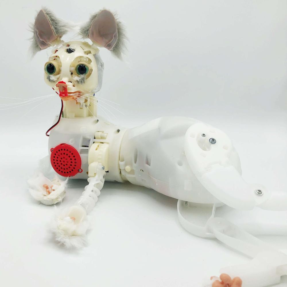 In Vestimentis Ursum The Robots Hiding Inside Stuffed Animals Hybrid Dogs Lab Puppies Cuddly [ 1000 x 1000 Pixel ]