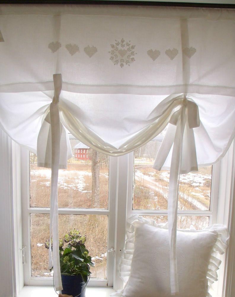 Rollos Gardinen Vorhänge details zu raff gardine mandy weiß rollo 100 x 140 cm lillabelle