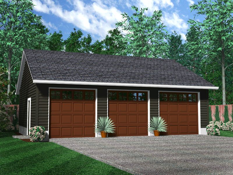 Image detail for detached 2 car garage with full for 2 car detached garage kits