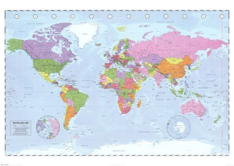 World Map Political Time Zones Things I Love