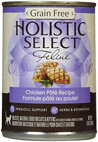 holistic select grain free chicken pate recipe 12x13 oz this is an amazon affiliate link click image to review more details