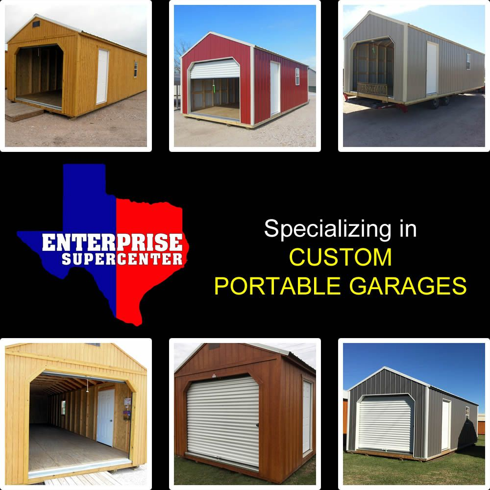 Portable Garages | Portable garage, Portable buildings ...