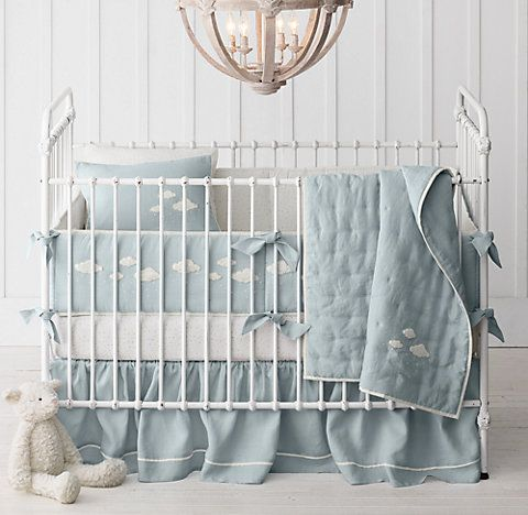 Rh Baby Child S Bouclé Cloud Nursery Bedding Collection