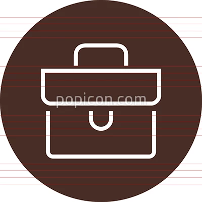 Briefcase Office Worker Outline Icon Popicon Business Icon Icon Outline