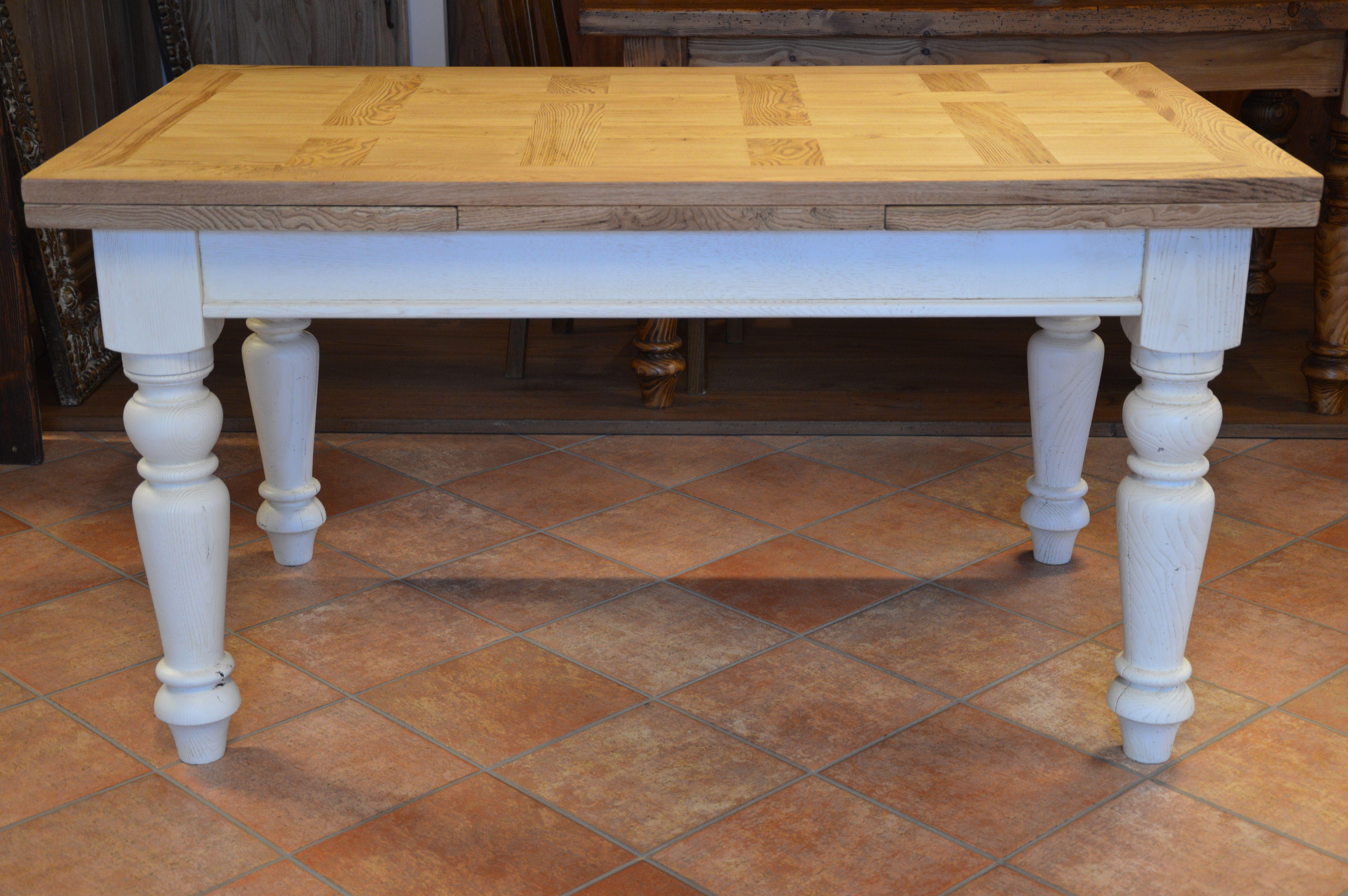 falegnameria bensi tavolo a capretta in rovere antico di recupero prima patina tavoli in legno Pinterest