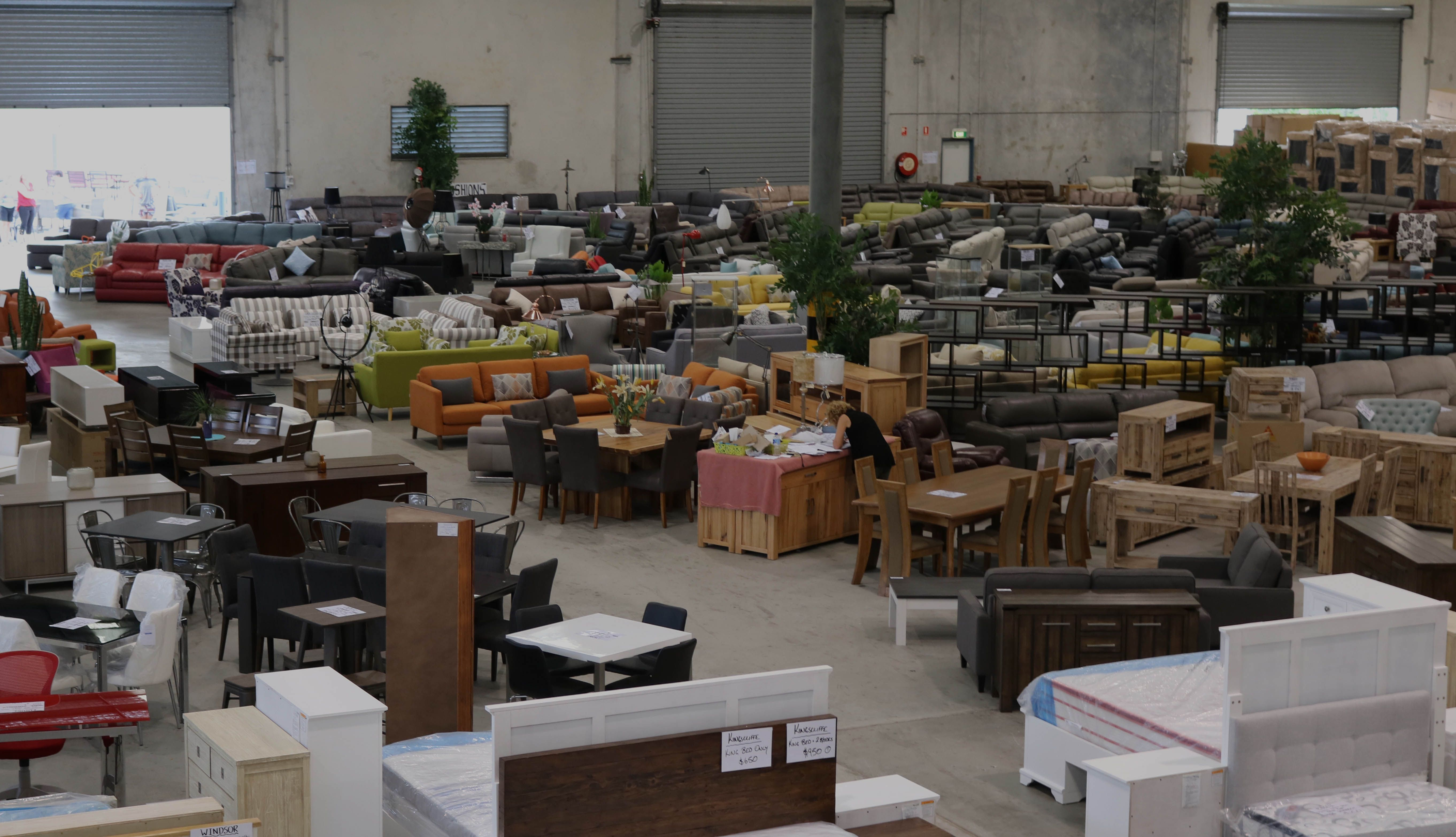 Subscribe Now for Furniture Clearance Sale at Biggest Warehouse in