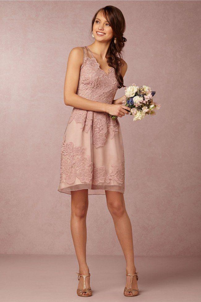 Trauzeugin kleid rosa kurz