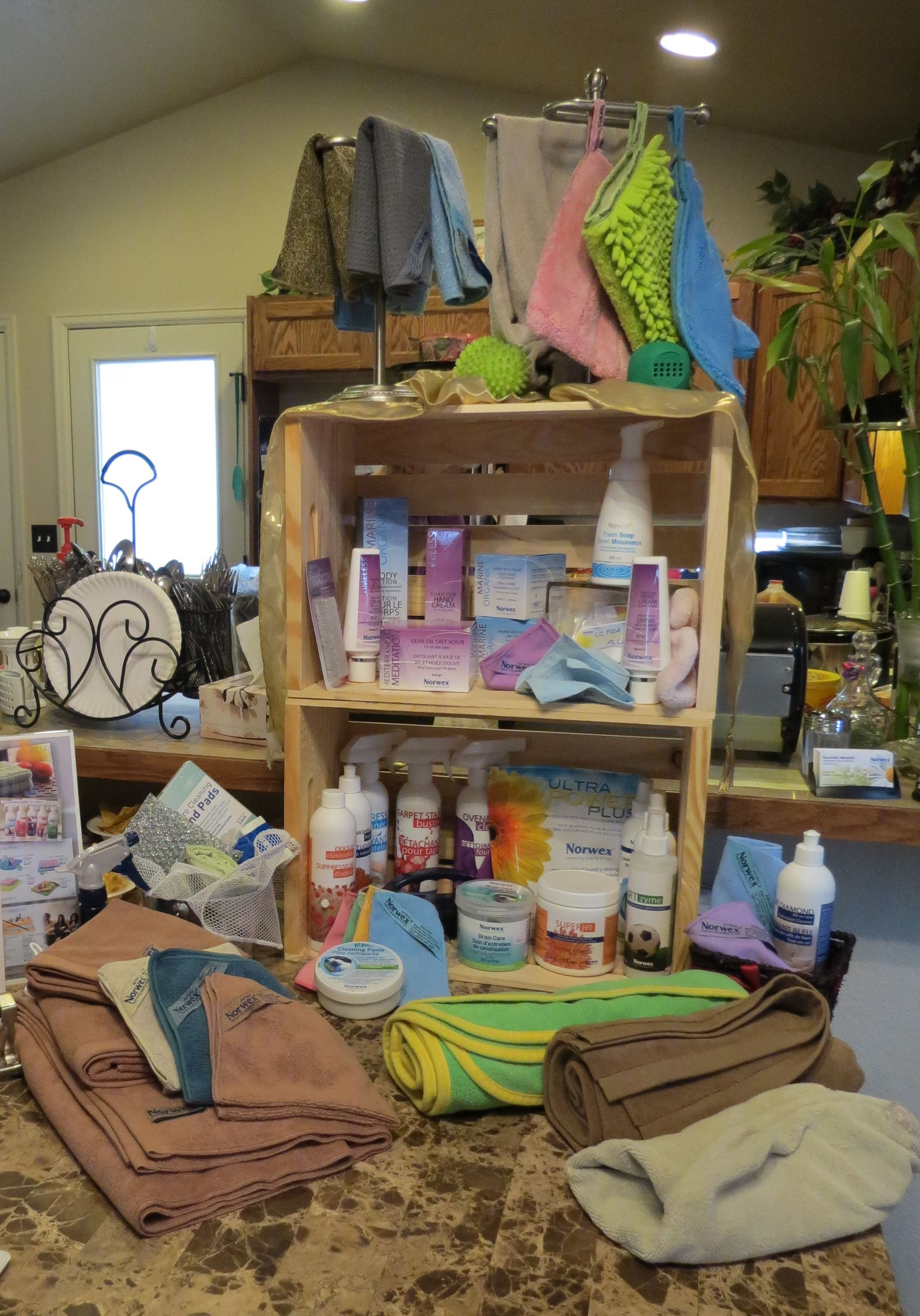 This Is A Picture Of One Of My Norwex Displayswhat