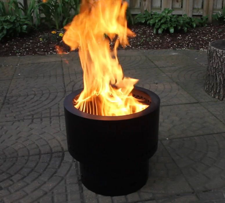 Flame Genie Wood Pellet Smokeless Fire Pit Outdoor Fire Pit Outdoor Fire Pit Designs Gas Fire Pits Outdoor