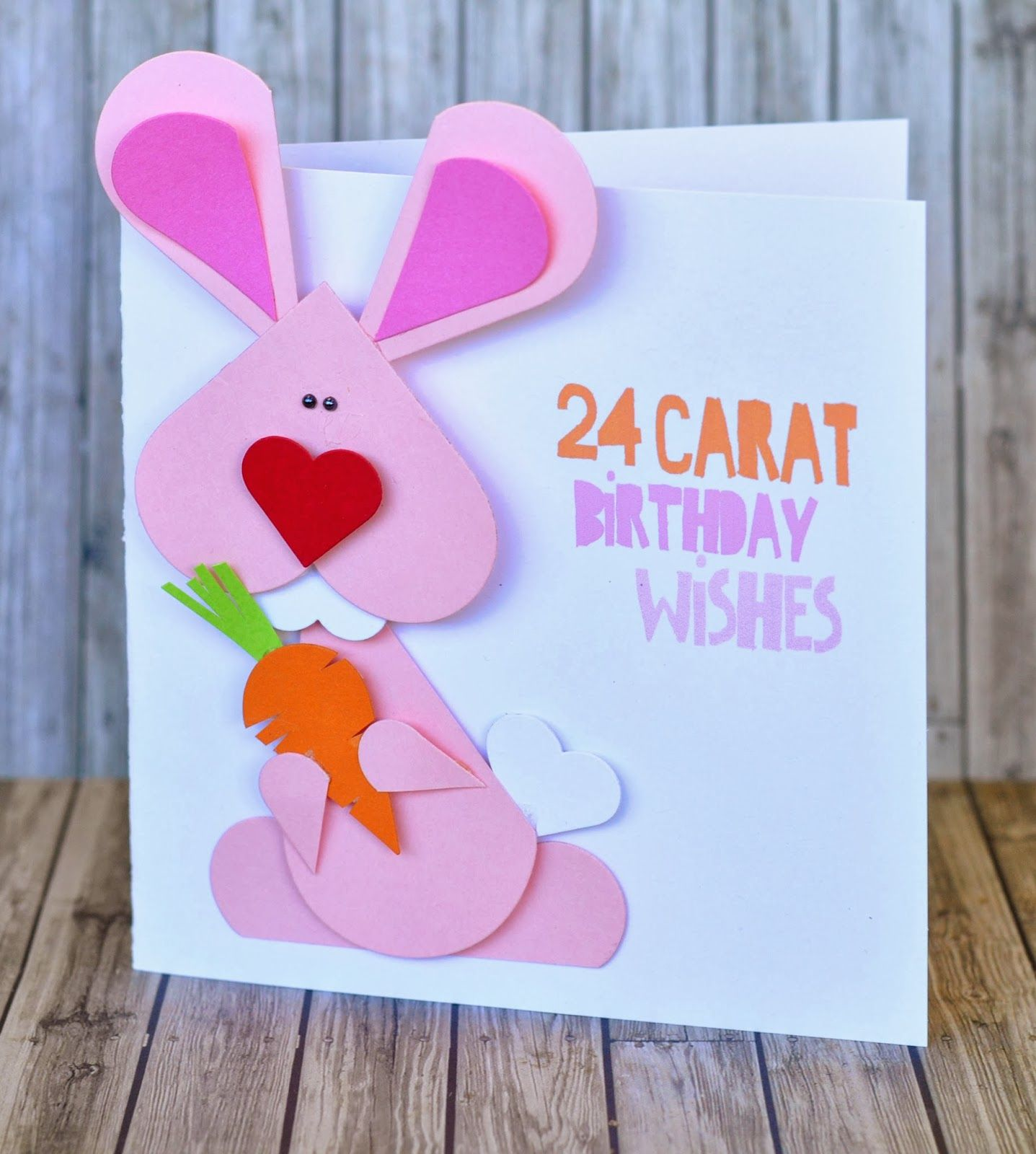 Heart Bunny I Love Hearts Pinterest Cardmaking Card Ideas