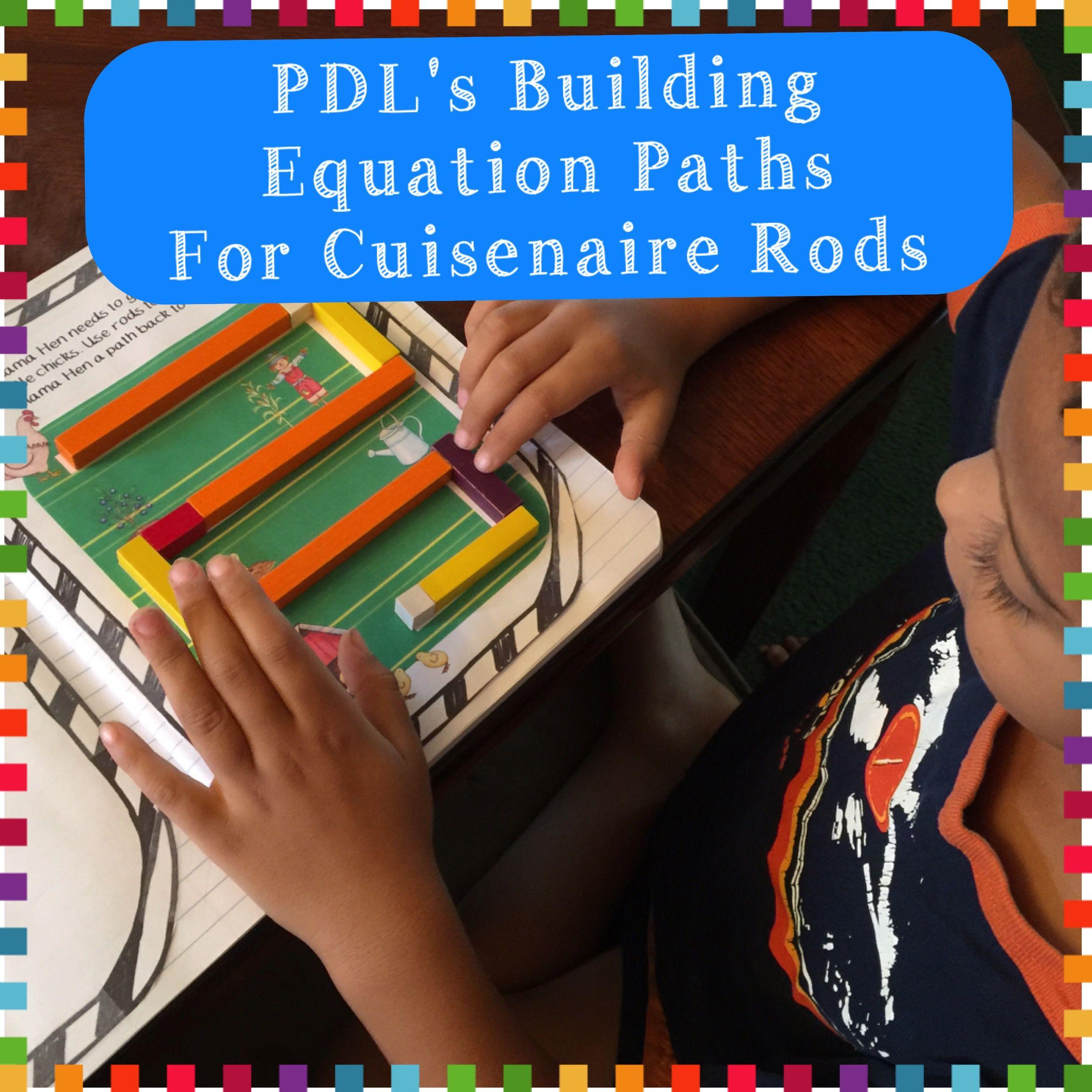 Pdl S Building Equation Paths Bundle For Cuisenaire Rods