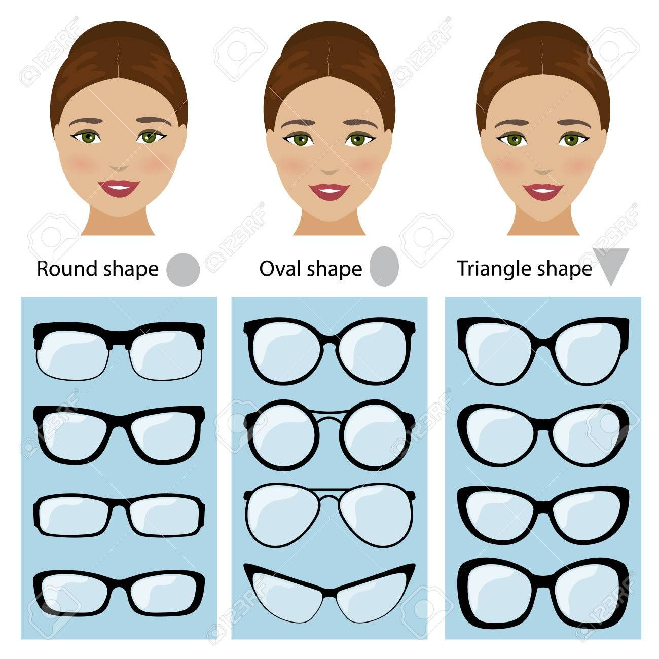 Photo of Spectacle frames shapes for different types of women face shapes