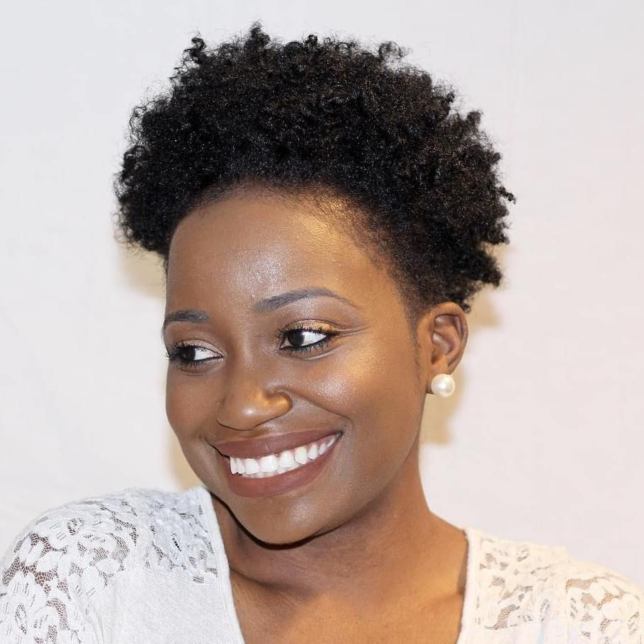 Short Afro Hairstyles Simple 40 Cute Tapered Natural Hairstyles For Afro Hair  Short Afro