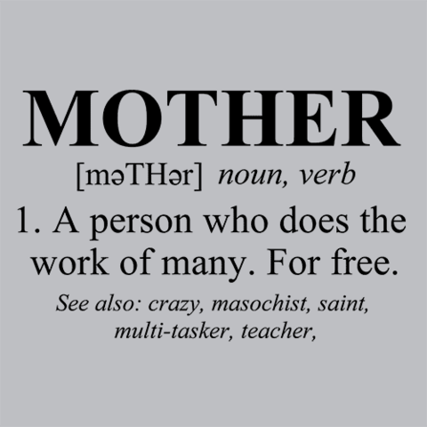 Mother Defined Mothers Day T Shirt