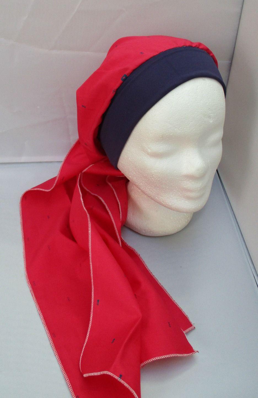 Turban à nouer préformé - Foulard - Bonnet - chapeau - bandeau chimio  fuchsia enlacé d 51cca585d53