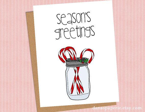 Cute holiday card canning jar holiday card candy by danaspaperie cute holiday card canning jar holiday card candy by danaspaperie holiday cards m4hsunfo