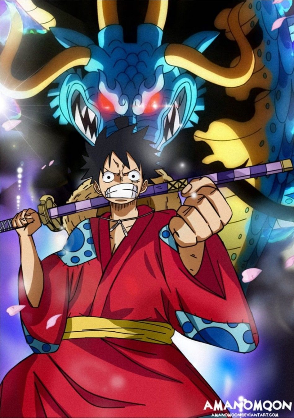 One Piece Wano Arc Wallpaper 1920x1080
