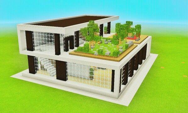 Minecraft- maison moderne Ma chaine youtube: mcpe construction ...