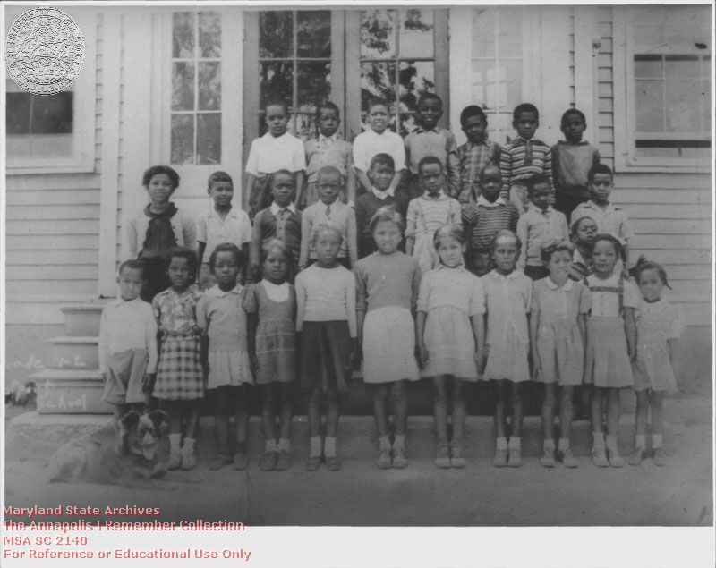 segregated schools 1950s - 800×635