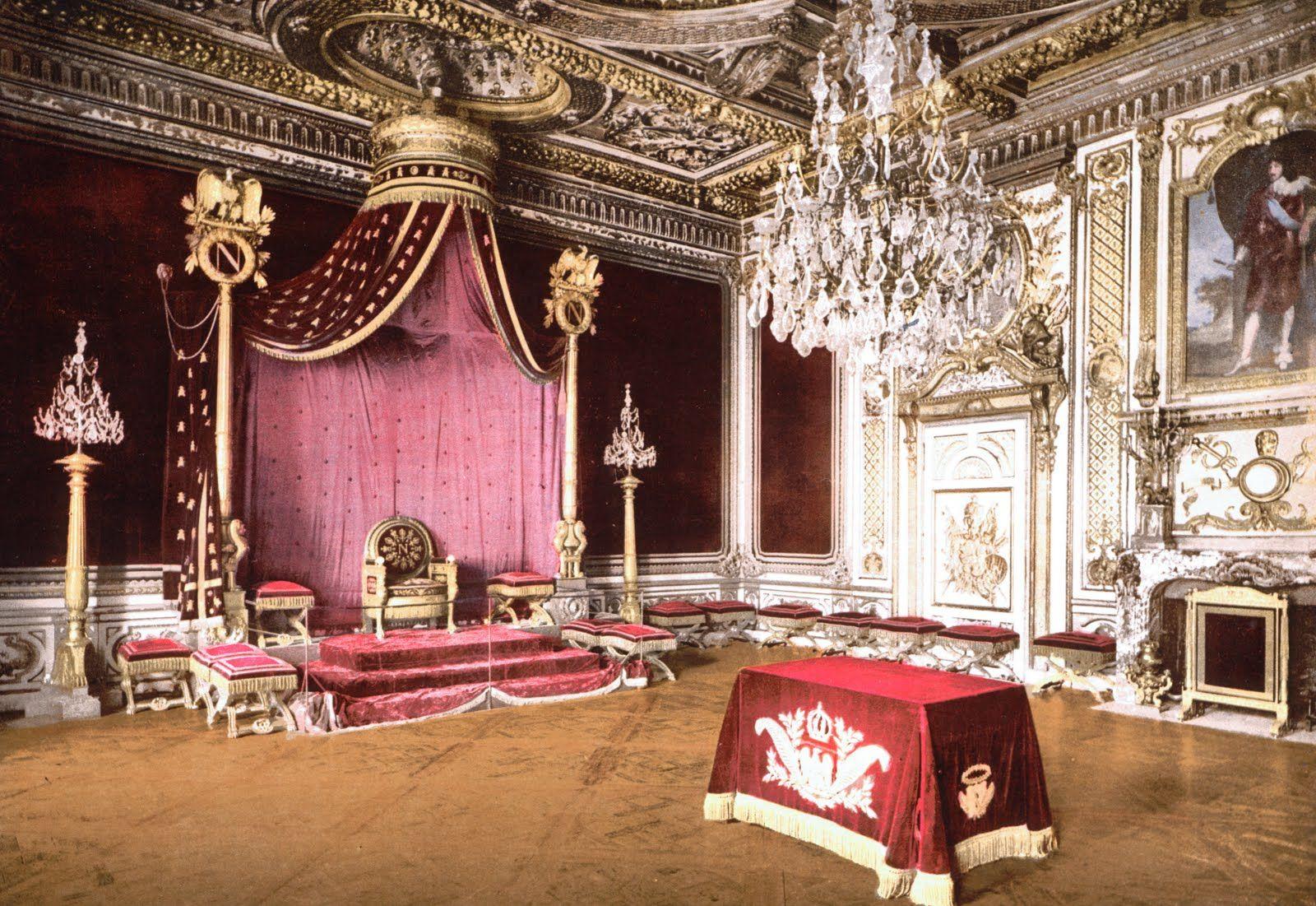 Directoire, French Empire: Le Salle du Trone a Napoleon, Fontainebleau