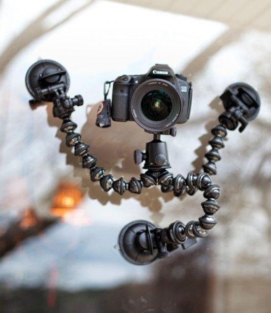 Cinetics CineSquid Suction Cup Camer Mount system $250