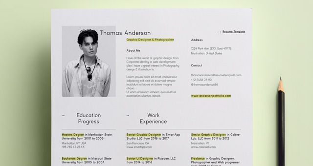Simple CV Resume   CV Pinterest Simple resume template - resume education in progress
