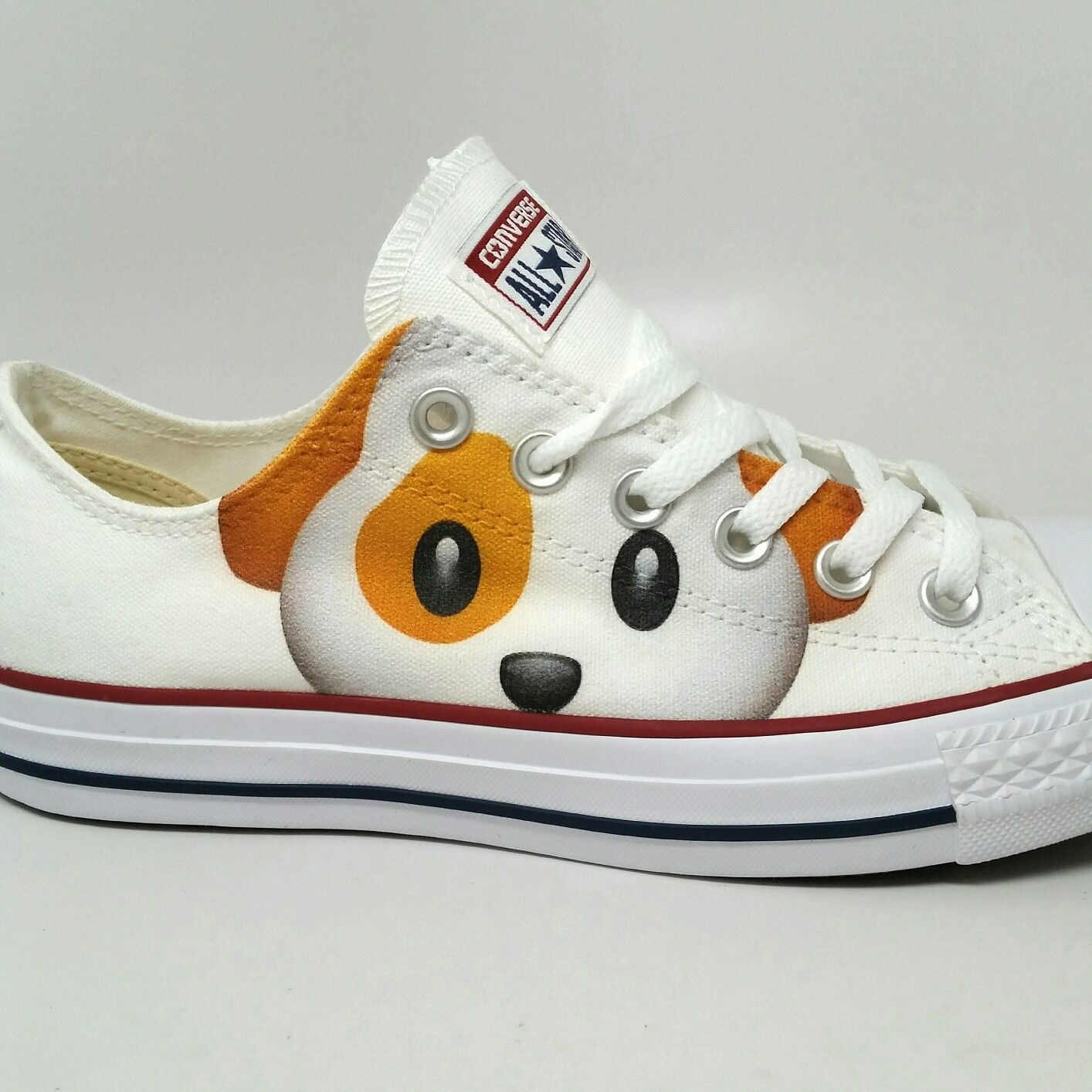 dog emoji custom converse low tops custom converse chucks