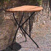 Dowe Folding Solid Wood Balcony Table in 2019 | New Condo - Balcony ...