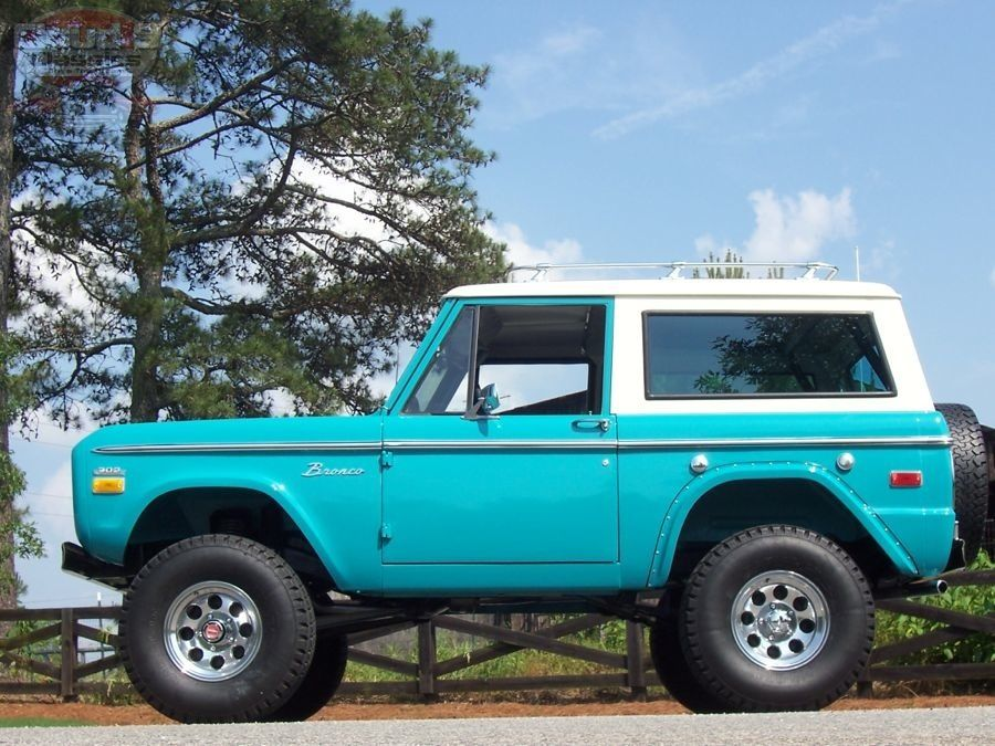 1970 Ford Bronco Sold Ford Bronco Classic Ford Broncos Bronco