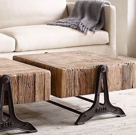 I love this awesome side tables Living