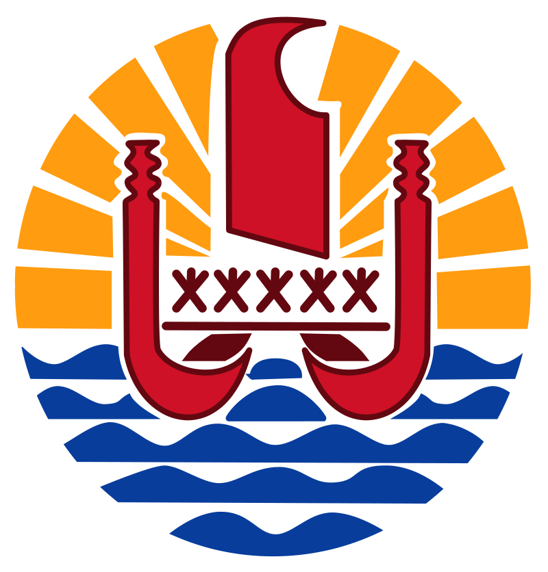 French Polynesia Tahiti French Polynesia French Polynesia Coat Of Arms