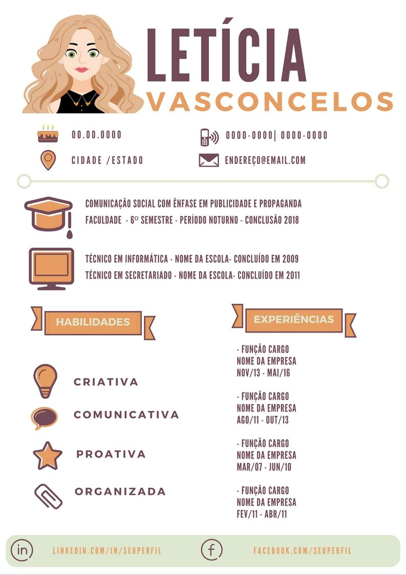 Curriculo Criativo … Cv