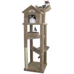 Molly and Friends XL Kitty Treehouse Petsmart es fully