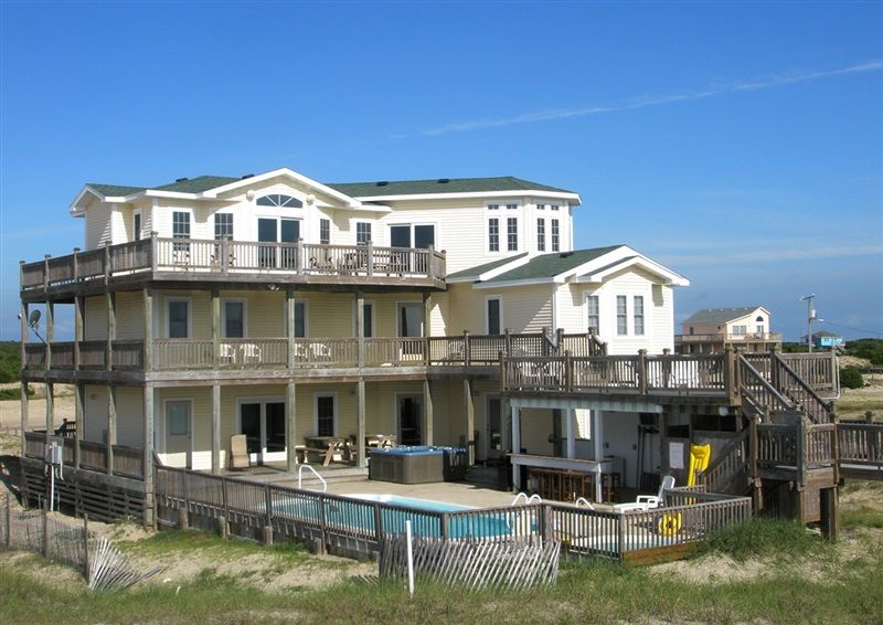 Twiddy Outer Banks Vacation Home Just Dune It 4x4 Oceanfront