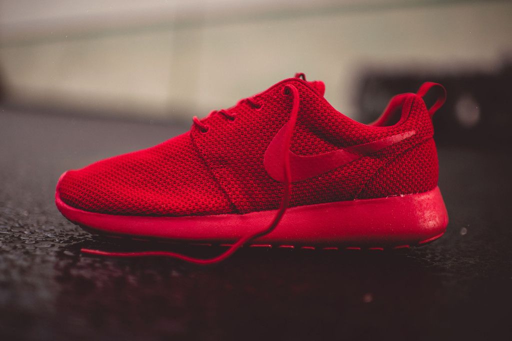 Nike Roshe One (Varsity Red) | Rock City Kicks · Nike Air Max ...