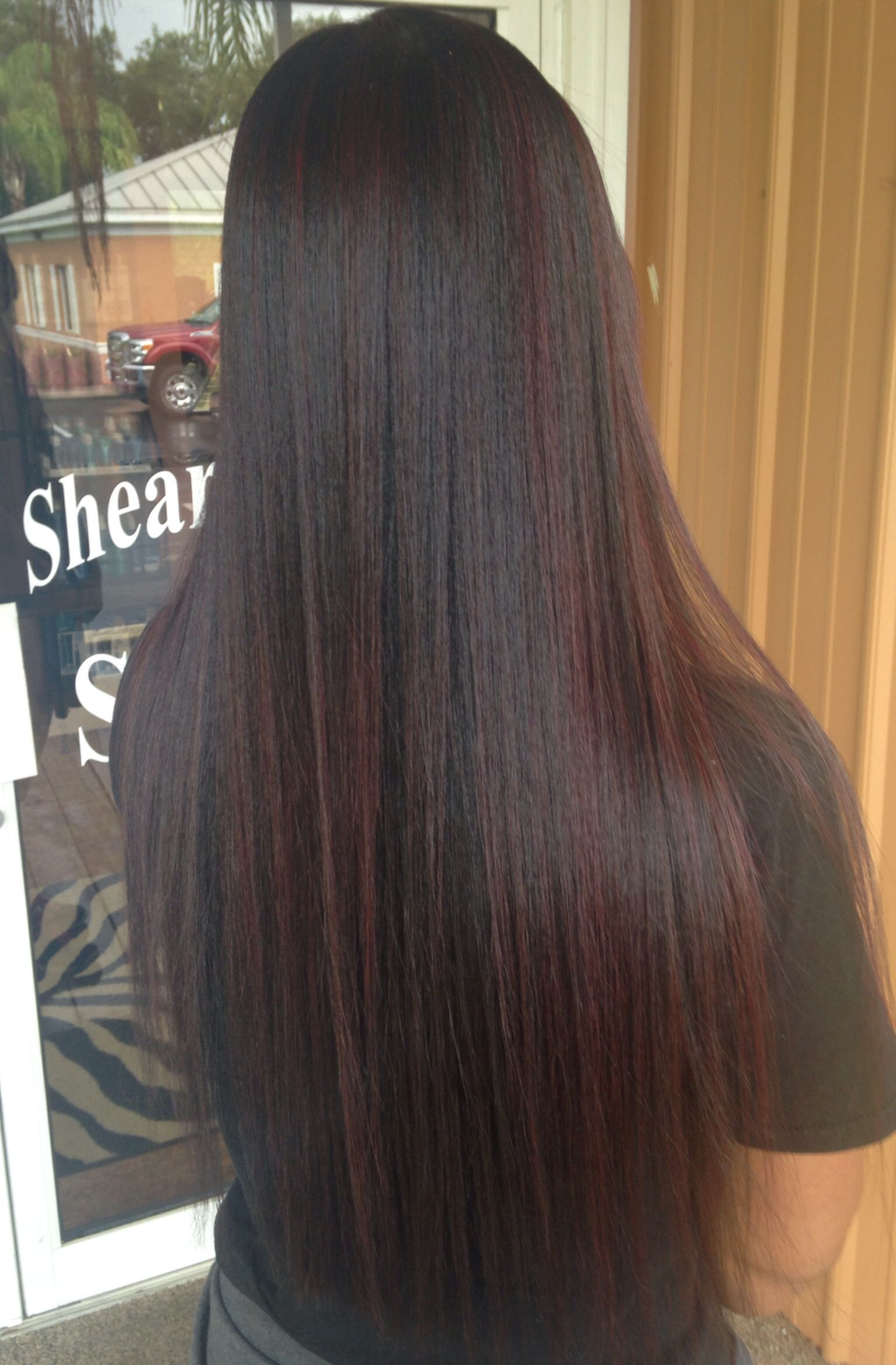 Subtle Red Highlights Hair Color Dark Blonde Ombre Short Hair Dark Blonde Hair Color