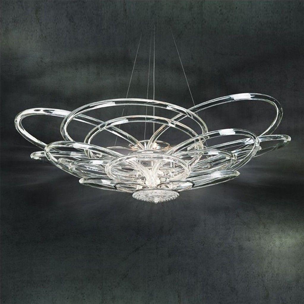 Autentico lampadario classico in vetro soffiato. Lampadari Di Murano Moderni Modern Design Sogni Di Cristallo Inside Lampadari Moderni Cristallo