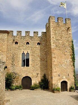 Castell de Montsonís, Lleida, Catalonia